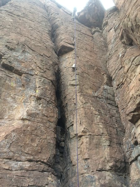 """Rock Climbing Photo: DAS rapping """"Changes in Attitude"""". &quot..."""