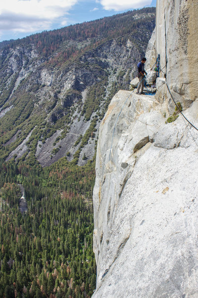 Emilio on Ahwahnee ledge