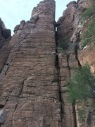 Rock Climbing Photo: The right arete!