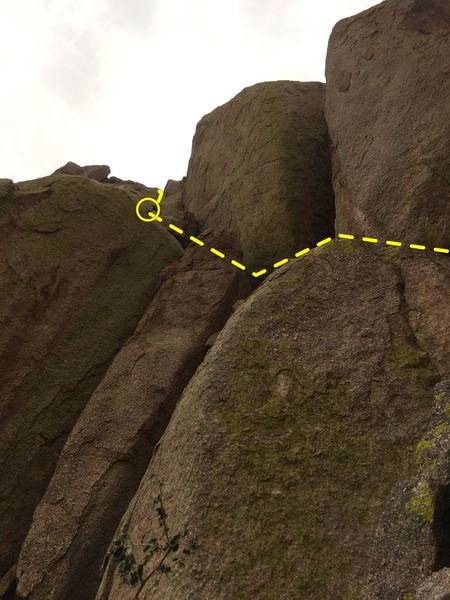 Rock Climbing Photo: Beer Route