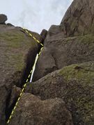 Rock Climbing Photo: Beer Route - P2