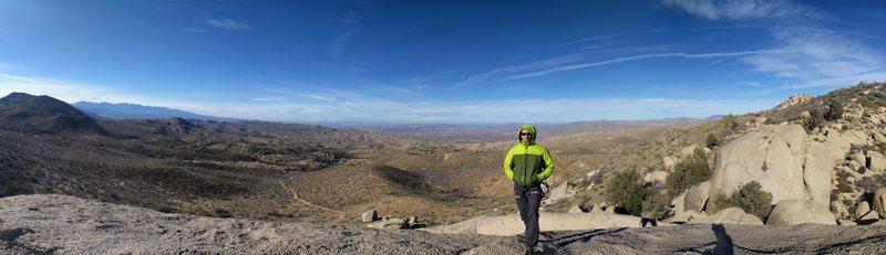 Rock Climbing Photo: Top of Butt Rock.