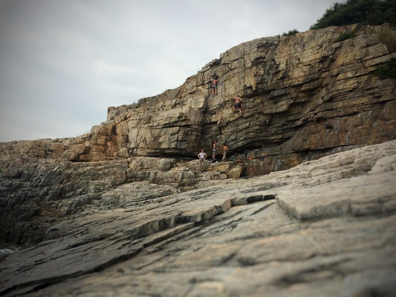 The Prow.<br> A great group of HK climbers showed us around.