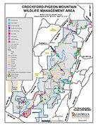 CROCKFORD-PIGEON MOUNTAIN WILDLIFE MANAGEMENT AREA MAP
