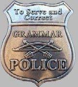 Rock Climbing Photo: Grammar Police