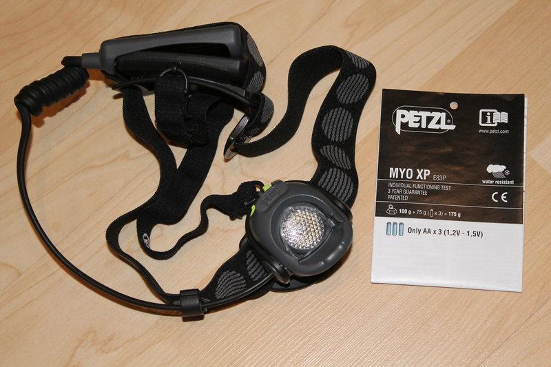 Rock Climbing Photo: Used but Like New Petzl Myo Headlamp 45$
