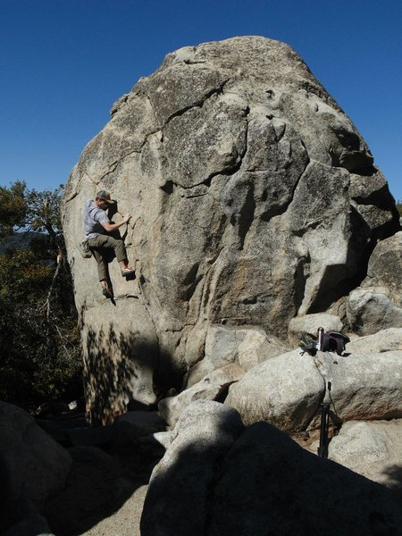 Rock Climbing Photo: A fun line