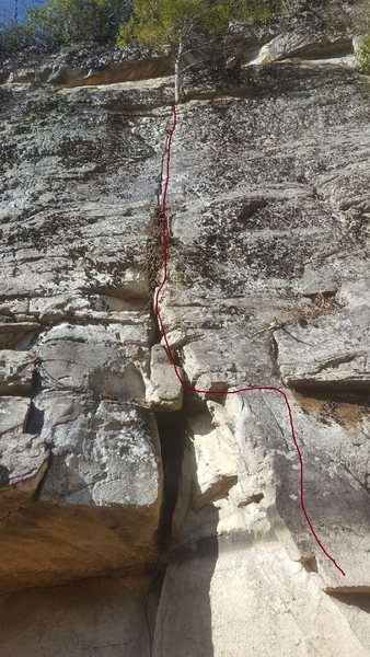 Rock Climbing Photo: Routes with a Ranger, done on 12/28/2016 with youn...