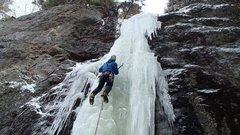 Rock Climbing Photo: Joe Kennedy on the second ascent.
