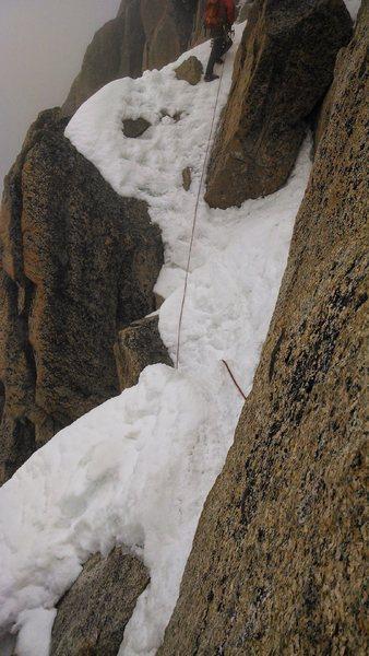 Rock Climbing Photo: Arete du Cosmiques