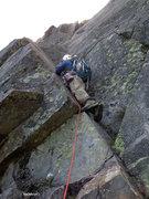 Rock Climbing Photo: no harness.