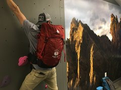 Rock Climbing Photo: Admin pack: hard core enough to summit the plastic...