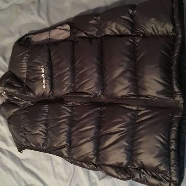 Montbell down vest