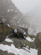 Rock Climbing Photo: Be ready for variable conditions, even in summer.