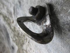 Rock Climbing Photo: Same bolt as above