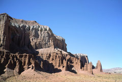 Rock Climbing Photo: The Mudstrosity is the largest formation hereabout...