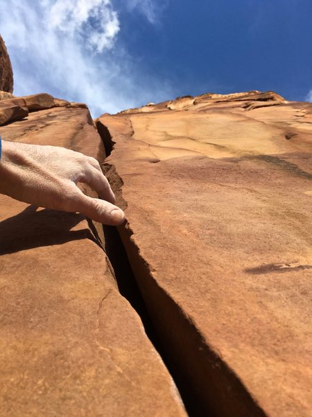 Rock Climbing Photo: Tickling The O.C.