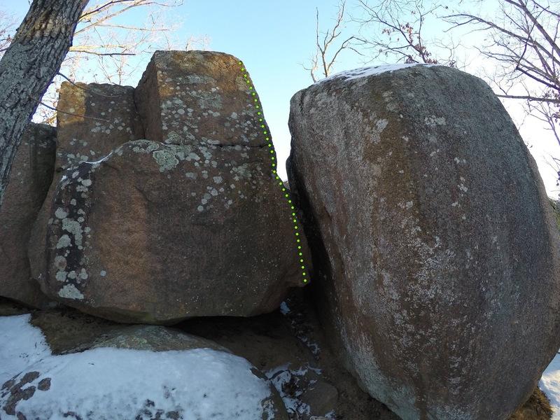 Rock Climbing Photo: Mono Arete
