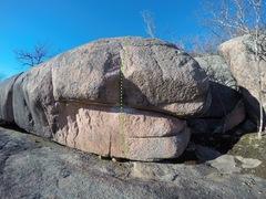 Rock Climbing Photo: Smoke