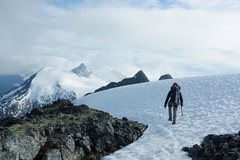 Rock Climbing Photo: Guiding a 7 day trip in the international zone bet...