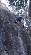 Rock Climbing Photo: New route...