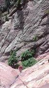 Rock Climbing Photo: eldo multi pitch trad, forgot which route