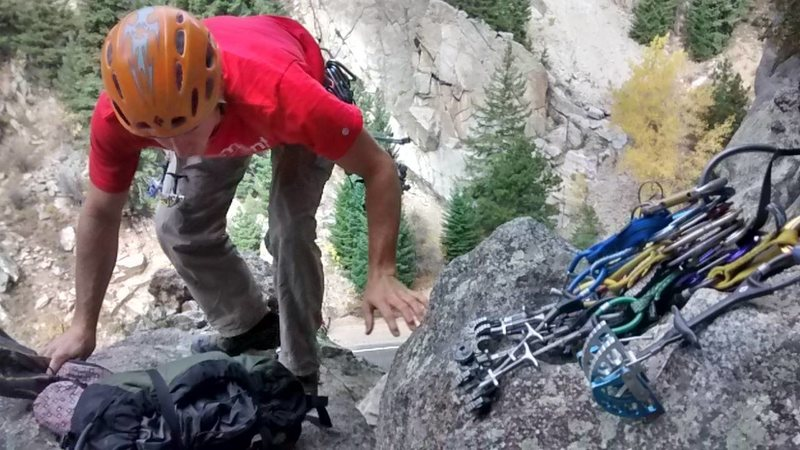 boulder canyon trad day