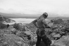 Rock Climbing Photo: kayak/ice trip