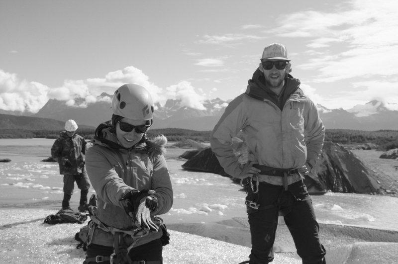 Rock Climbing Photo: glacier ice climbing