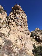 Rock Climbing Photo: Keyhole Rock Topo