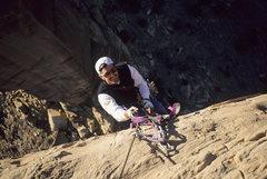 Rock Climbing Photo: Jonathan Auerbach, Thin Man Spire, 1998.
