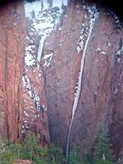 Rock Climbing Photo: S. Fork Taylor Creek, Zion Ice