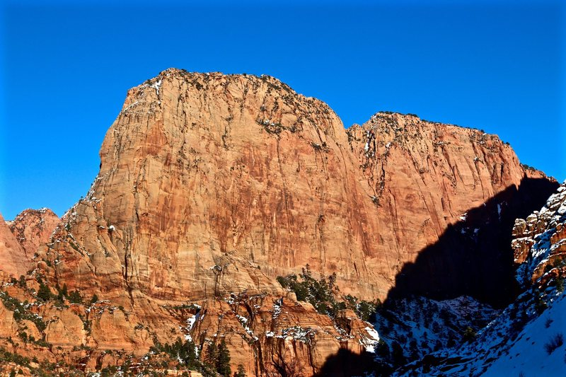 Rock Climbing Photo: South Fork of Taylor Creek, Kolob Canyon, Winds Sa...