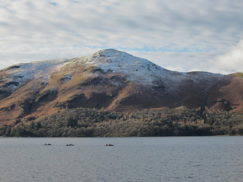 Catbells and boats .. January 2017