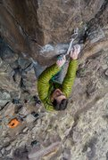 Rock Climbing Photo: Owner of Kush Climbing, Kyle Vines, at the busines...