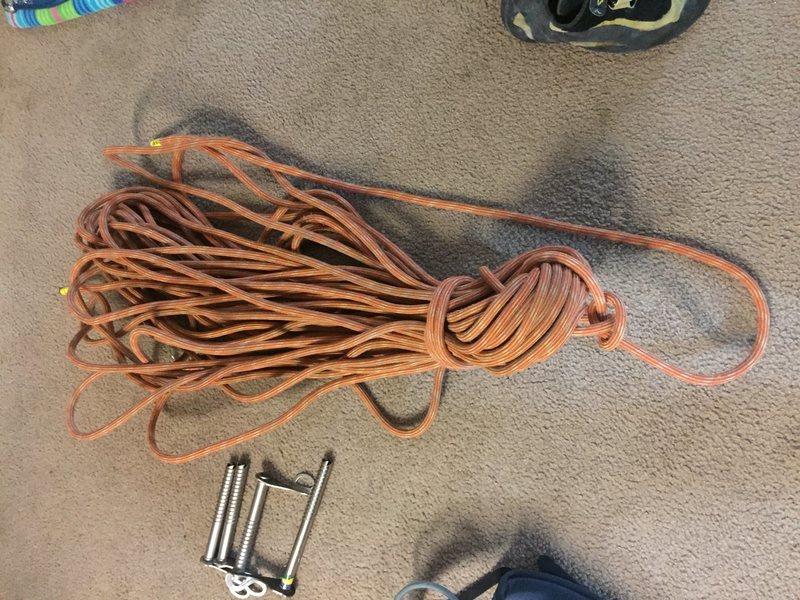 Rock Climbing Photo: rope