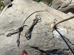 Rock Climbing Photo: Anchor at the top of electric bobcat