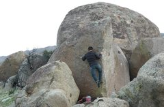 Rock Climbing Photo: There has to be a trick to this.