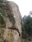 Rock Climbing Photo: Halfway Rock.