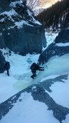 Rock Climbing Photo: Hooray for dirty ice!