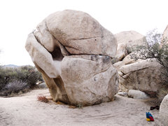 Rock Climbing Photo: Sidenote: Doesn't make a huge difference here ...