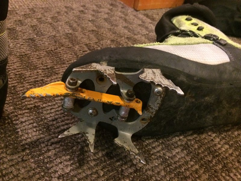Crampon Front Points