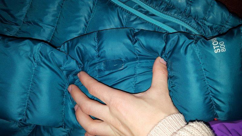jacket damage