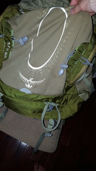osprey pack dirt