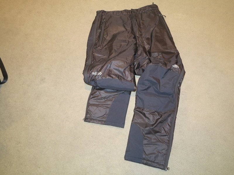 Brand New Rab Photon Pants Large<br> SOLD to Stephen