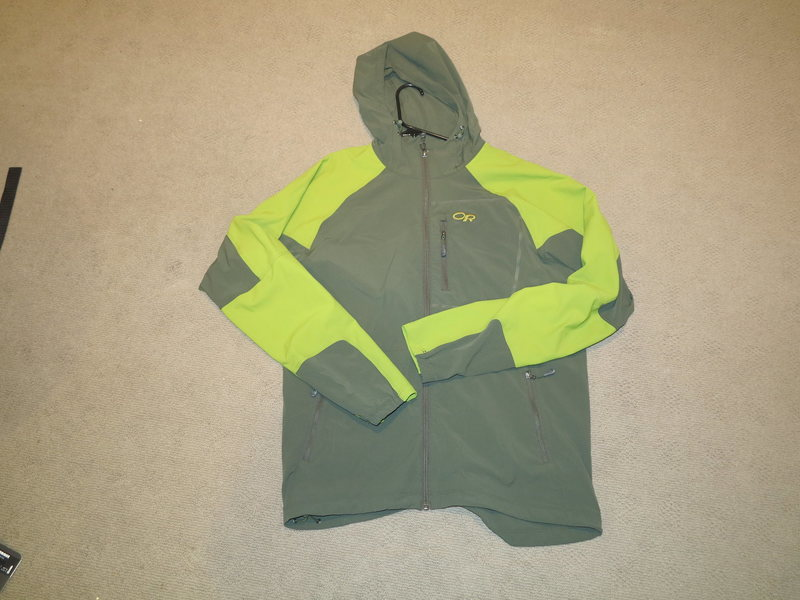 New Outdoor Research Ferocity Soft Shell Large SOLD to Nolan