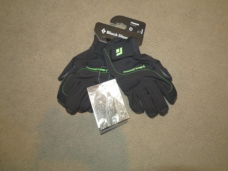 Black Diamond Torque Glove Brand New Medium SOLD to Johnny