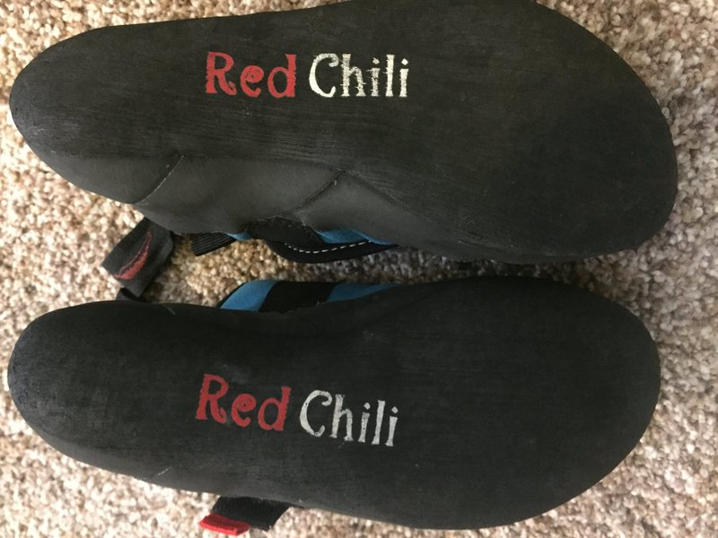 Red chili shoes size <br> U.K. 1.5<br> EUR 34