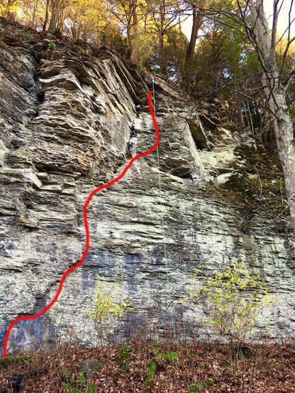 Rock Climbing Photo: Skånes Skåra Beta