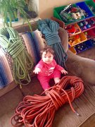 Rock Climbing Photo: Paisley Super Rope Kit!!